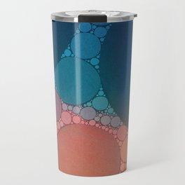 Red Modern Minimal Abstract Travel Mug