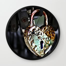 Where's the Key to Love? Wall Clock