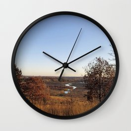 Pheasant Branch Creek and Conservancy Wall Clock