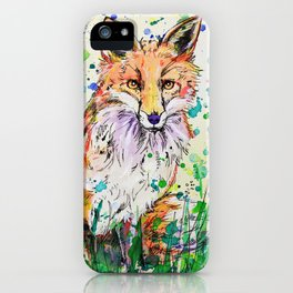 Red Tail iPhone Case