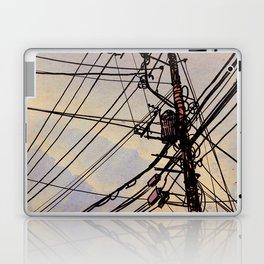 wires up Laptop & iPad Skin