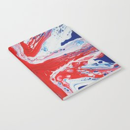 Abstract Union Jack Notebook