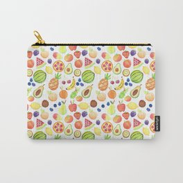 Fruits Pattern Carry-All Pouch