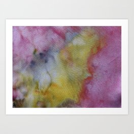 Shocking Pink Art Print