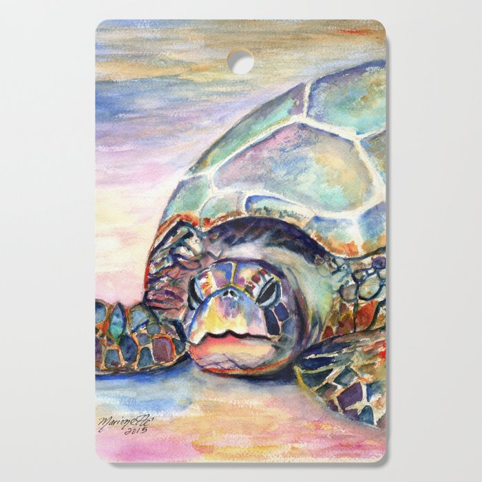 Turtle at Poipu Beach Cutting Board