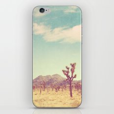 Joshua Tree photograph. desert print, No. 189 iPhone & iPod Skin