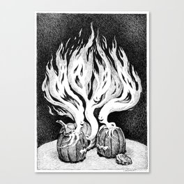 Halloween Escape Canvas Print