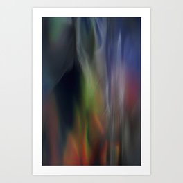 Heavenly lights in water of Life-5 Art Print