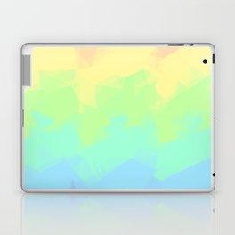 Geometric Pastel Rainbow Laptop & iPad Skin
