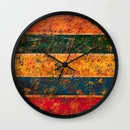Stripes (Abstract) Wall Clock