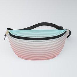 Beach Blanket - Aqua/Peach Fanny Pack