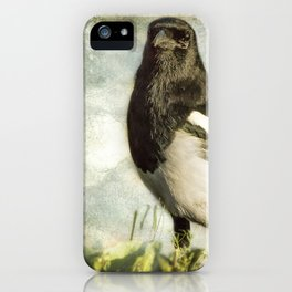 Message from the Magpie iPhone Case