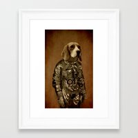 beagle Framed Art Prints featuring Beagle by Durro