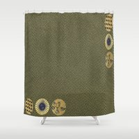 steam punk Shower Curtains featuring steam punk by Iris & Ino