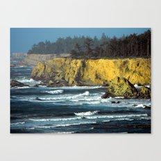 Oregon Surf Canvas Print