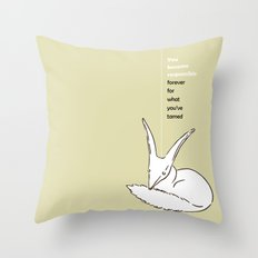LE PETIT PRINCE -THE LITTLE PRINCE- poster Throw Pillow
