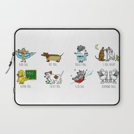Know Your Dogs Laptop Sleeve
