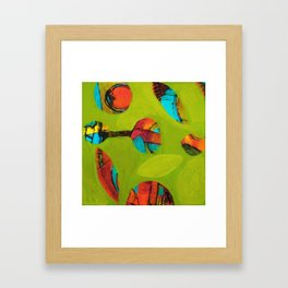 Chaos Contained Framed Art Print