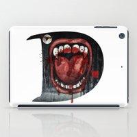 dracula iPad Cases featuring Dracula by Jhonatan Medina