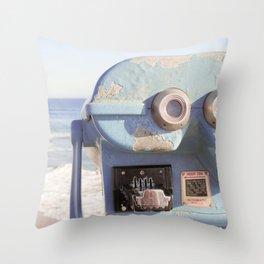 I See Huntington Beach 2 Throw Pillow