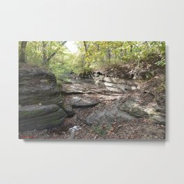 Hanging Rock & Peavine Hollow Series, No. 25 Metal Print