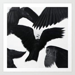 Hitchcock: The Birds Art Print