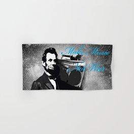 ABRAHAM LINCOLN MORE MUSIC LESS WAR Hand & Bath Towel
