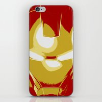ironman iPhone & iPod Skins featuring Ironman by Adel