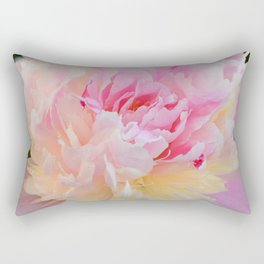 Joy of a Peony by Teresa Thompson Rectangular Pillow