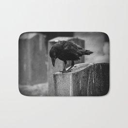 Cemetery Crow Bath Mat