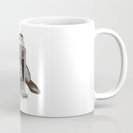 Penguin Wearing a Human Costume Coffee Mug