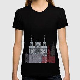 Lublin skyline poster T-shirt