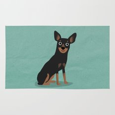 Min Pin - Cute Dog Series Rug