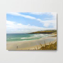 Sandfly Bay-Otago, New Zealand Metal Print