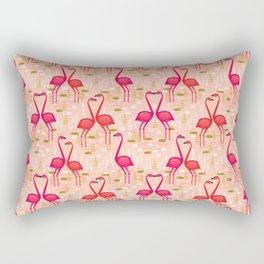 Flamingos by Andrea Lauren Rectangular Pillow