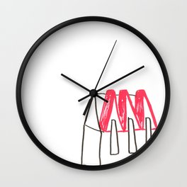 Hôtel des appalaches Wall Clock