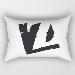 The Alphabetical Stuff - Z Rectangular Pillow