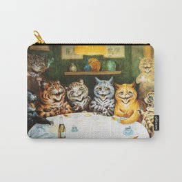 Kitty Happy Hour - Louis Wain's Cats Carry-All Pouch