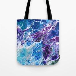 Iridescent Mermaid Tote Bag