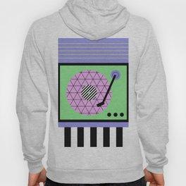 Play That Retro Geometric Vinyl Hoody