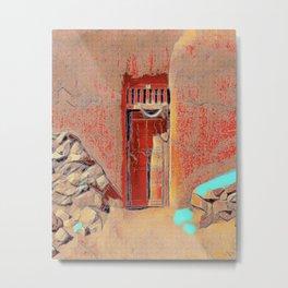 Santa Fe Door #5 Metal Print