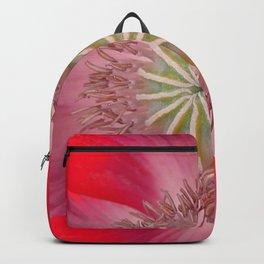Hot Red Poppy Backpack