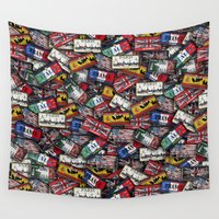 country Wall Tapestries featuring country plates by Eduardo Doreni