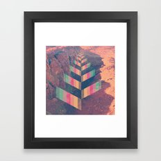 Colourful Perspective Framed Art Print