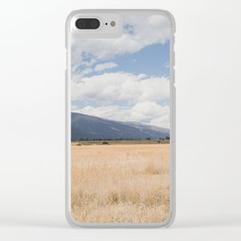 Montana Gold III Clear iPhone Case