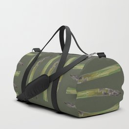 Asparagus design Duffle Bag