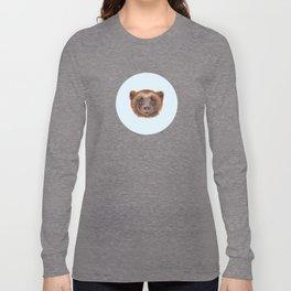 Wolverin (e) portrait Long Sleeve T-shirt