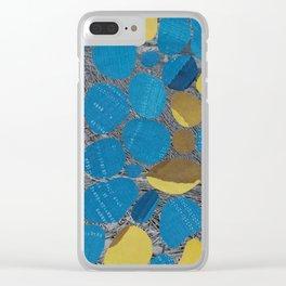 Sun & Moon Clear iPhone Case