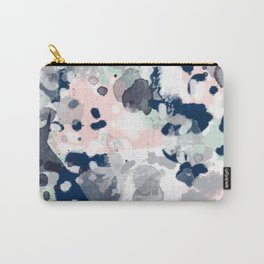 Tate - abstract modern minimal painting art nursery baby office home decor minimalist modern nursery Carry-All Pouch