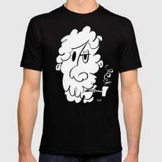 The Doodle Smoker Mens Fitted Tee Black MEDIUM
